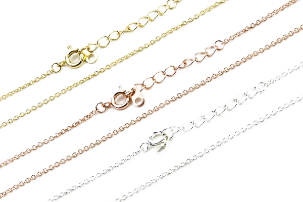 18K Gold Cable Chain – #RRPJ10