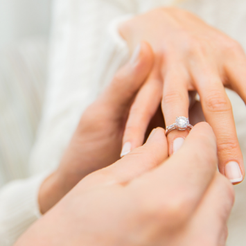 Graceful Anniversary Ring: Complement The Tradition Of Your Love
