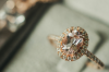 9 Luxe Halo Engagement Rings To Dream About Your Precious Moment