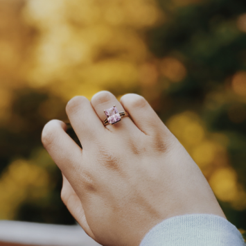 Rustic Diamond Ring: Design Your Own Engagement Ring