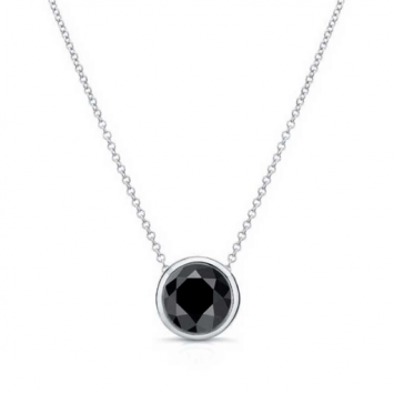 Add on to Your Beauty with Black Diamond Necklace