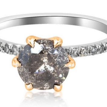 5 Best Salt and Pepper Diamonds Engagements Rings for Your Special Day