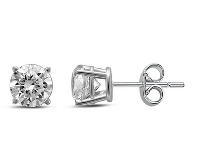 What Should Be The Ideal Size Of Diamond Stud Earrings?