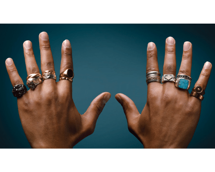Wearing ring in fingers meaning