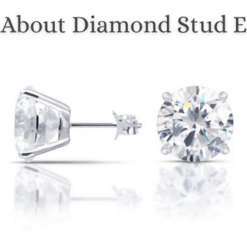 facts about diamond stud earring